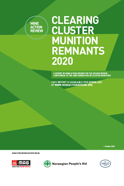 Clearing Cluster Munition Remnants 2020
