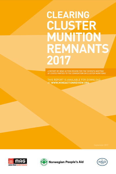Clearing Cluster Munition Remnants 2017