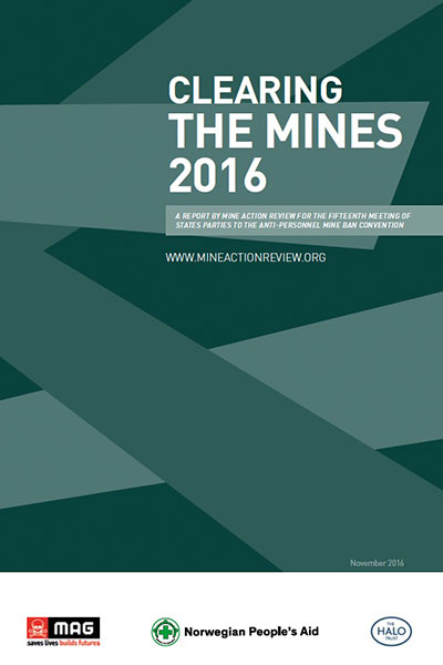 Clearing the Mines 2016